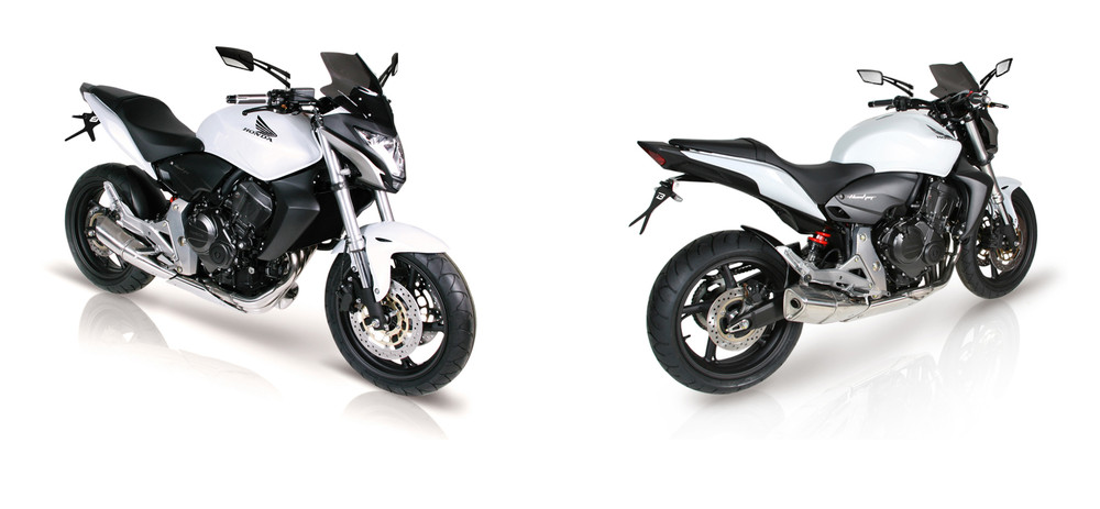 motorradzubeh r honda hornet 600 2011 2012 2013 barracuda. Black Bedroom Furniture Sets. Home Design Ideas