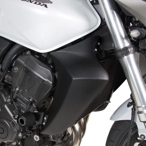 Kühlerverkleidung Honda Hornet 600 schwarz-matt (unlackiert)