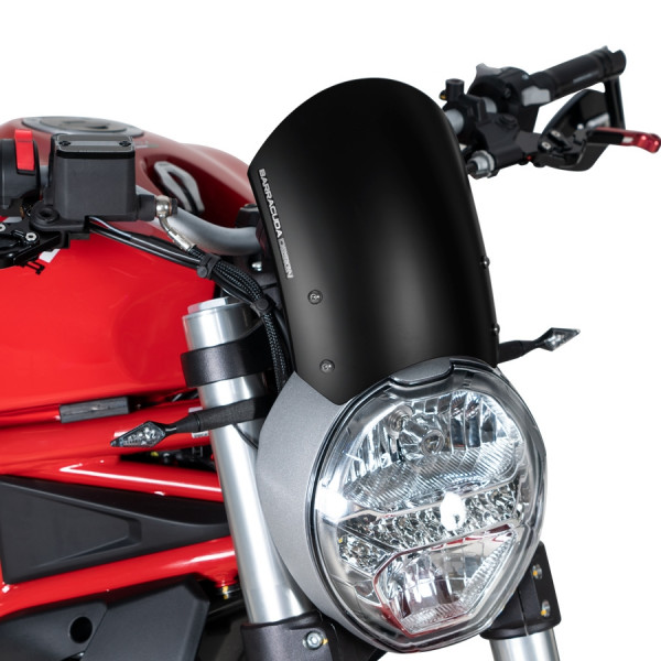 Windschild Aerosport Aluminium für Monster 797